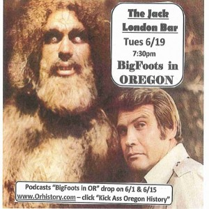 Bigfoot Event Flyer