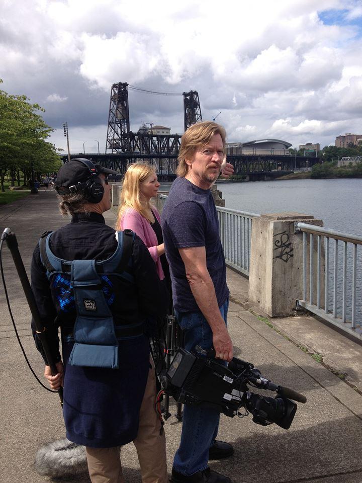 Portland Noir Filming