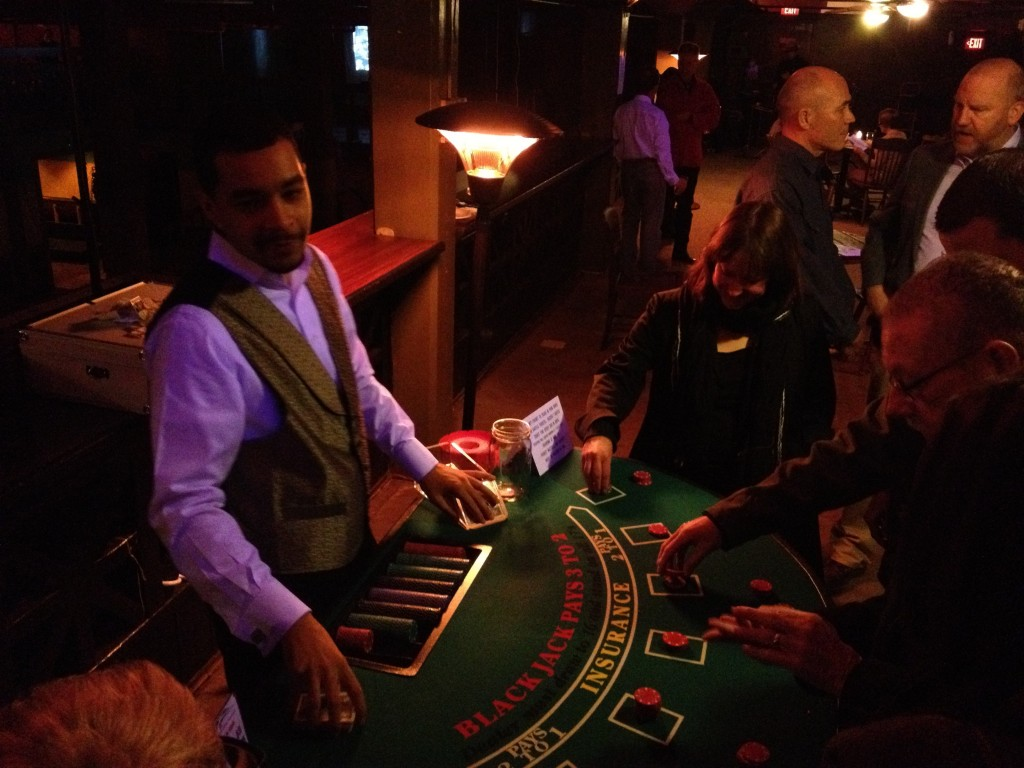 Gambling, dude...